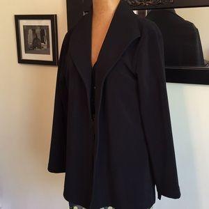 Chico's Black Stretch Jacket Size 2
